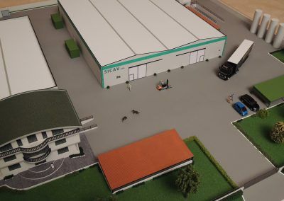 Stabilimento industriale Scala 1:100