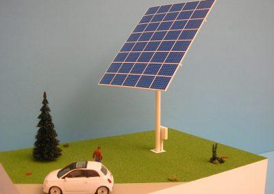 Vela fotovoltaica Scala 1:50
