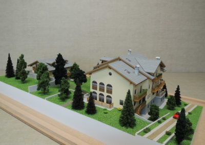 Complesso residenziale Scala 1:75